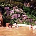 14. Vergnügen im lapanischen Bad: Matsuo, Deepal, Mieko (?), Ananda, Reinhard