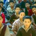 17. Internat Kinder aus Laddaki  dort