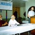 29. Michael spricht bei Govindhs Rotariern