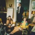 Rudi Hinz - davor Sunethra, Michael, Jutta und Barthold Busse
